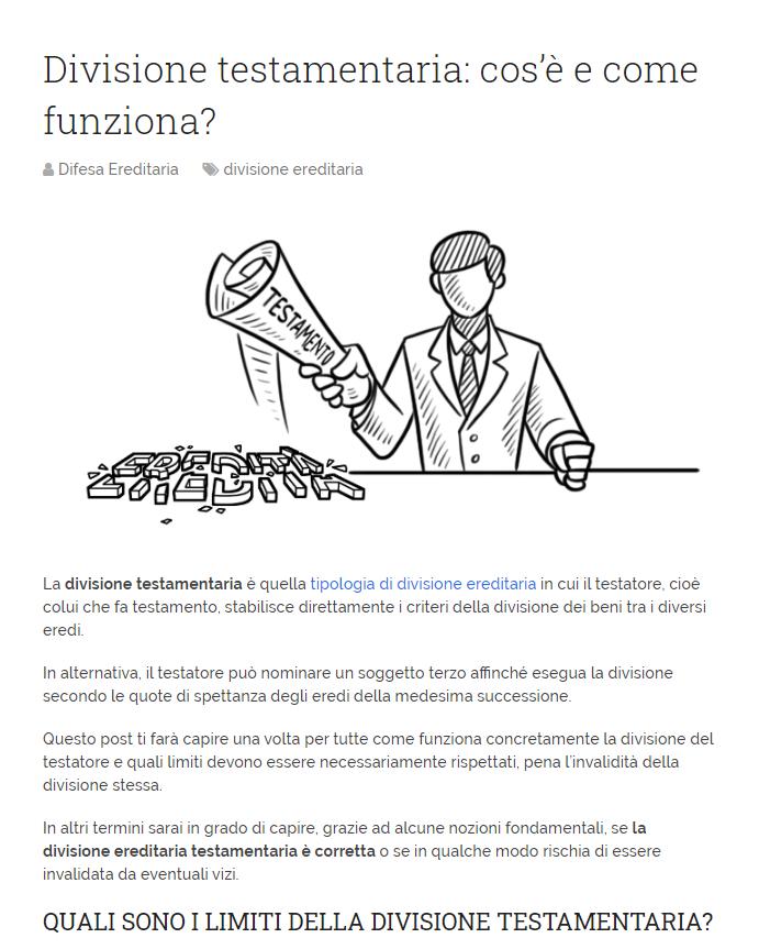 SEO copywriting siti web aziendali - AutoreDigitale ©